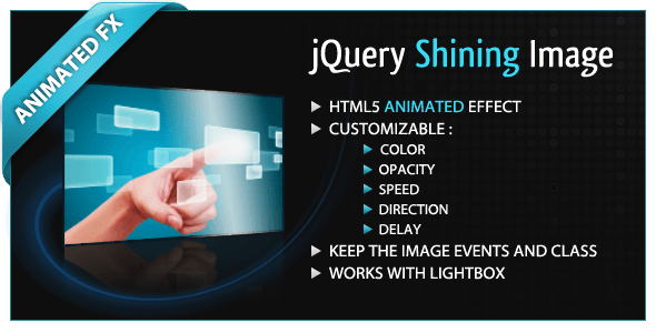 jQuery Shining Image