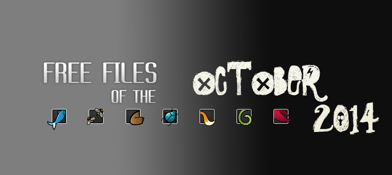 ThemeForest CodeCanyon FREE Files of the month October 2014