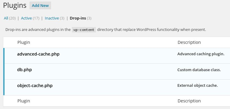 WordPress Drop Ins plugins