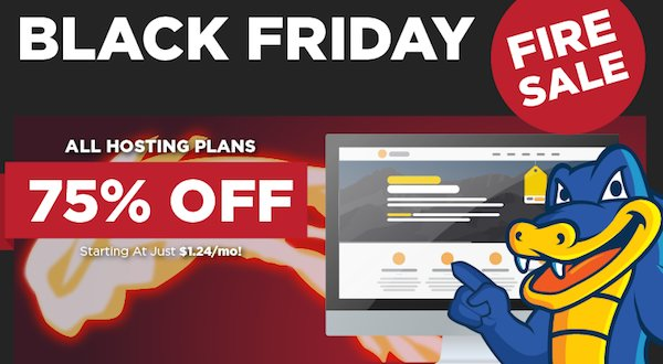 HostGator Black Friday 2014