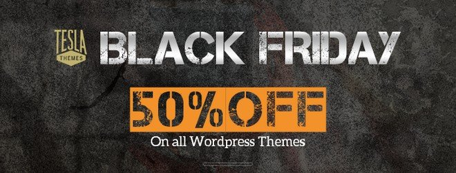 TeslaThemes offer 50% OFF on all WordPress Themes and Subscription Plans