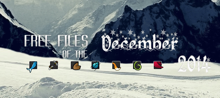 Envato, December 2014, FREE File of The Month