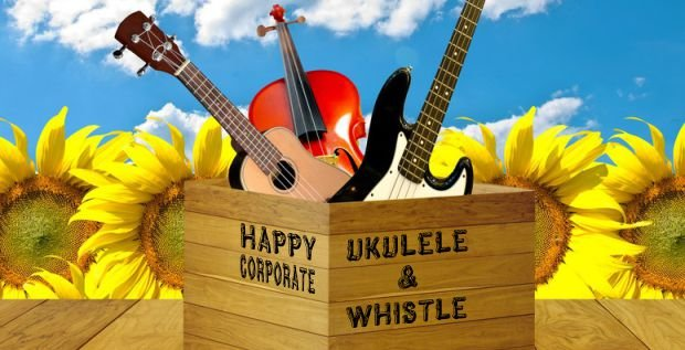 Happy Corporate Ukulele & Whistle