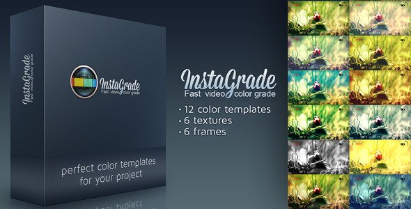 InstaGrade - Color Correction Template