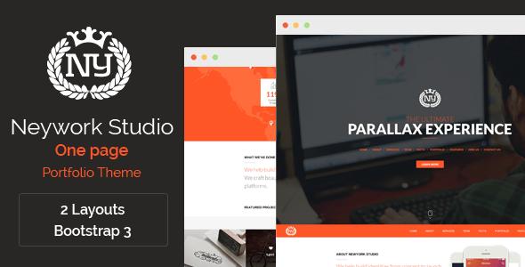 Newyork Studio - One Page Parallax Theme