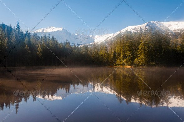 Winter Landscape. Tatra Mountains in Poland