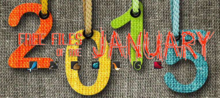 8 Premium FREE File of the month on January 2015