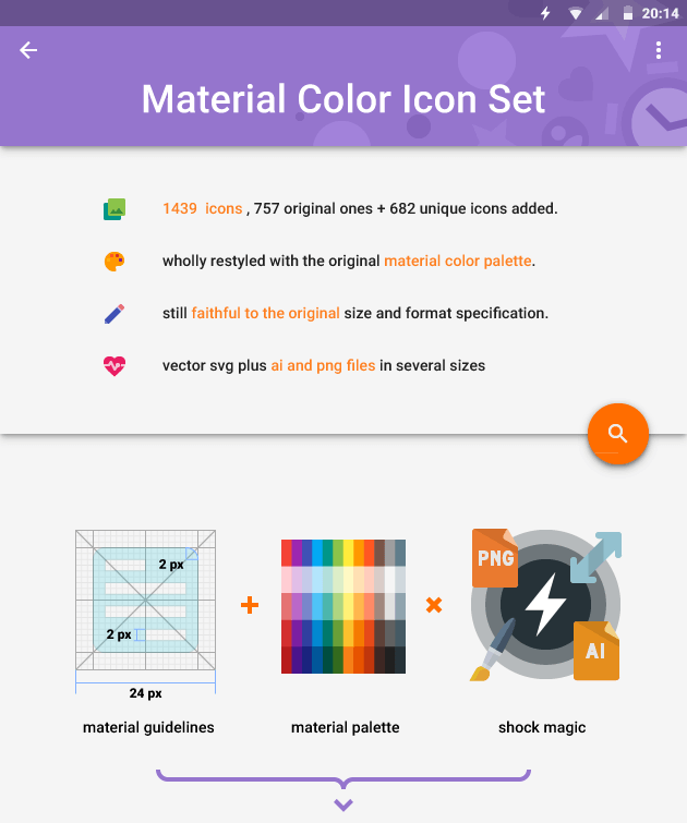 Material Design Icons Expanded