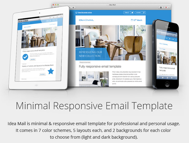 Awesome Responsive Email Templates For Newsletters NARGA - Email template builder open source