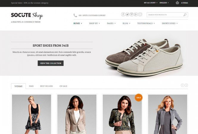 Woocommerce Best Shop Design