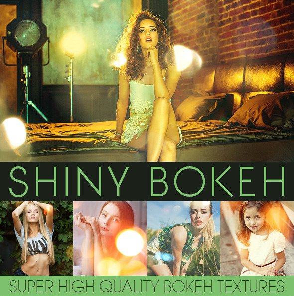 Bokeh Textures and Actions Vol.2