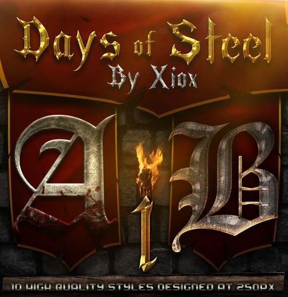 Days of Steel - Style Pack 1