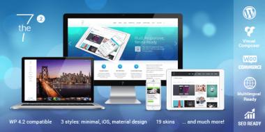 Top 7 Selling Premium WordPress Themes on ThemeForest