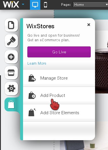 WixStores Add Product