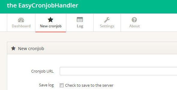 Easy Cronjob Web Handler