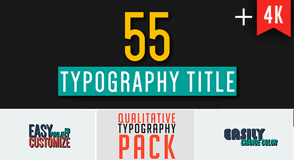 55 Qualitative Typography