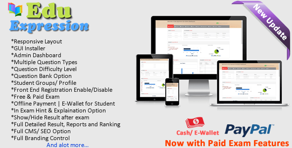 Edu Expression Online Examination System