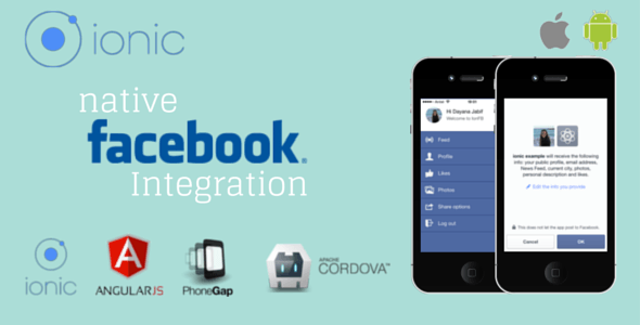 Ionic Facebook Native Integration