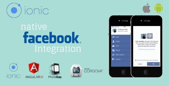 Ionic Facebook Native Integration