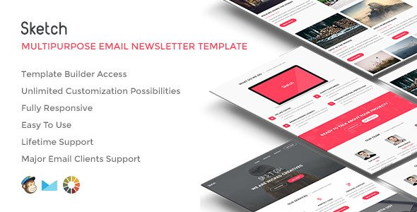 Sketch Responsive Email w/ Builder Access