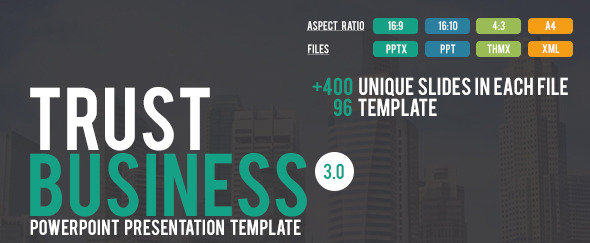 Trust Business PowerPoint Presentation Template
