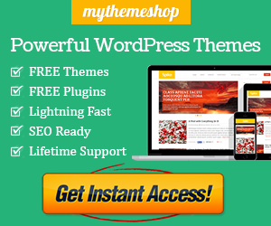 Get MyThemeShop Theme/Plugin for only $19