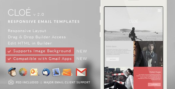 Cloe - Responsive Email Template Builder Access
