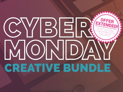 Cyber Monday Creative Bundle OFF 94% = $637
