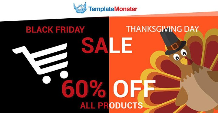 TemplateMonster offer 60% OFF ANY Template