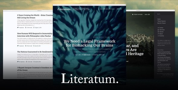 Blogs: Literatum - Just Write