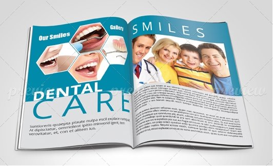 free dental brochure templates - free file of the month in february 2016 narga