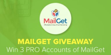 MailGet Giveaway Contest: Win 3 PRO Accounts Of Email Marketing Service