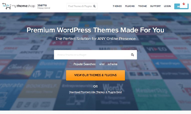 MyThemeShop - Get any Theme or Plugin for only $19