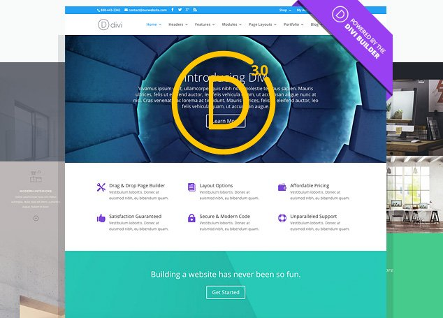 Divi 3 is the Ultimate Multi-Purpose and Best Drag Drop WordPress Theme