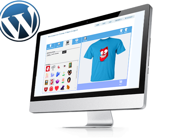 T-shirt Designer WordPress Plugin
