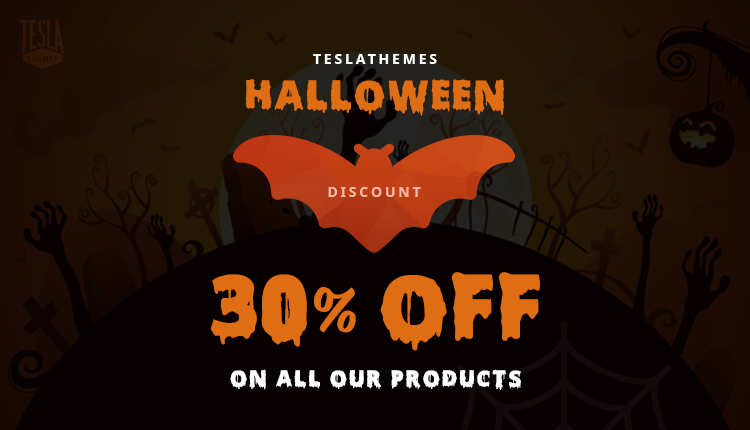 TeslaThemes – 30% Off Everything