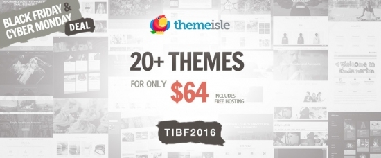 ThemeIsle is giving a 35% discount on all Premium WordPress Themes and Plugins.