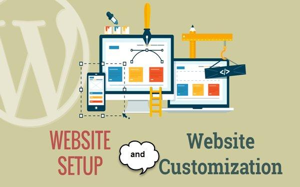 Website Setup and Customization