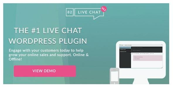 82 Live Chat • Customer Live Chat WordPress Plugin