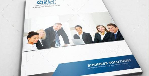 Corporate Bi Fold Business Brochur