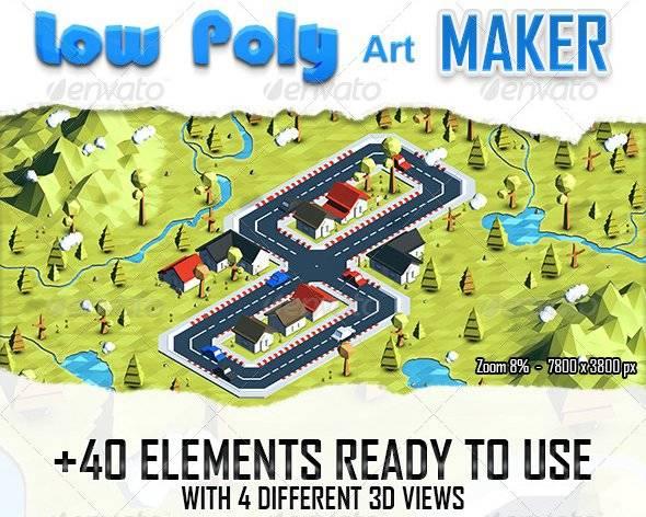 Low Poly Art Maker