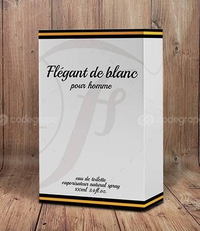 Perfume Box Packaging Templates