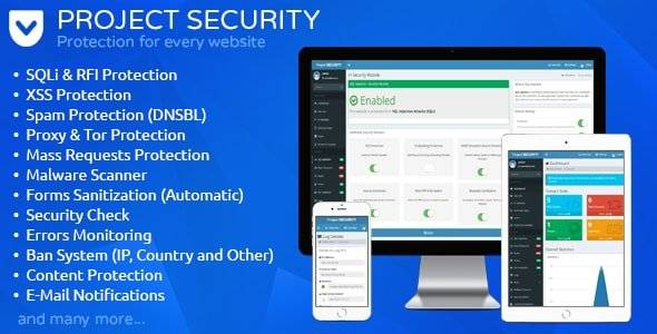 Project SECURITY – Website Security, Antivirus and Firewall