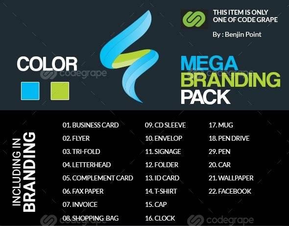 Mega Branding Pack