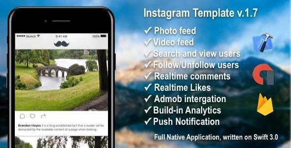 Photo/Video Social Application with Firebase + Admob + PushNotifications