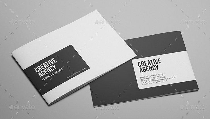 Creative Agency - A5 Portfolio Brochure