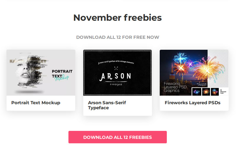 NARGA Friday Freebies #2: November 2017