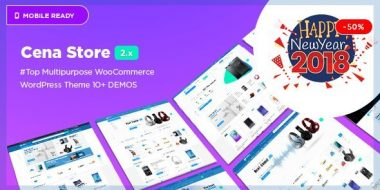 Cena Store - Multipurpose WooCommerce WordPress Theme