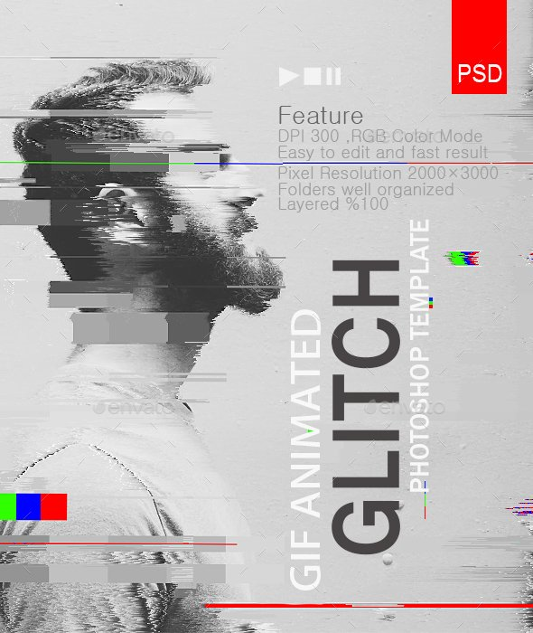 Gif Animated Glitch