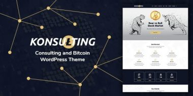 Konsulting - Consulting & Bitcoin WordPress Theme